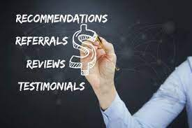 Reviews or Referral